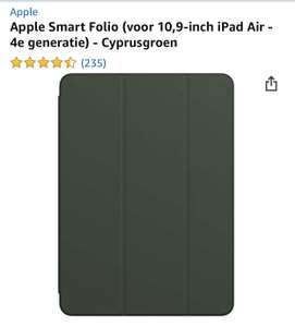 Apple Smart Folio (voor 10,9‑inch iPad Air - 4e generatie) - Cyprusgroen