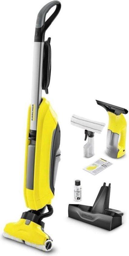 Kärcher Floor Cleaner FC 5 - Vloerreiniger - Inclusief WV1 Plus ruitenreiniger