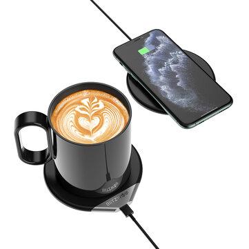 BlitzWolf® BW-WCC1 2-in-1 slimme koffiemok warmer
