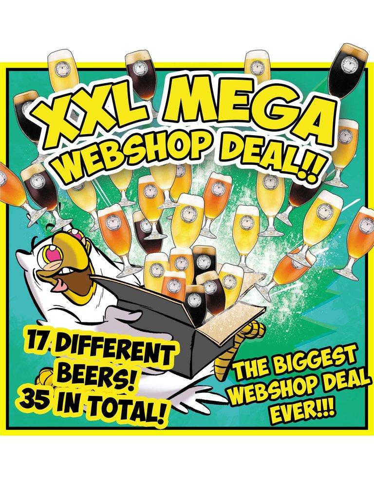 Brouwerij Uiltje XXL MEGA WEBSHOP-DEAL (35 biertjes)