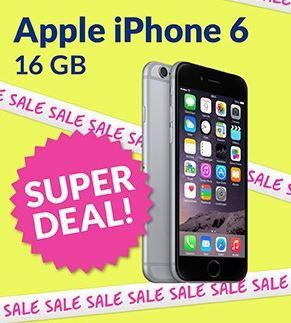 iPhone 6 met Tele2 voor €29 p/m @ Typhone