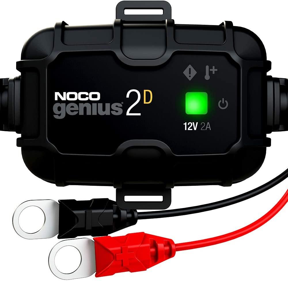 Noco Genius Gemonteerde Acculader 2D 2A voor €12,89 @ Amazon.nl