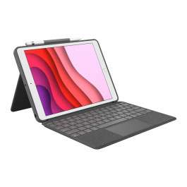 Logitech Combo Touch Toetsenbord Hoes (QWERTY) voor Apple iPad (2020)/(2019)