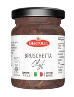 Bertolli Bruschetta Tapenade Olijf van €3 voor €0,40 @ Die Grenze