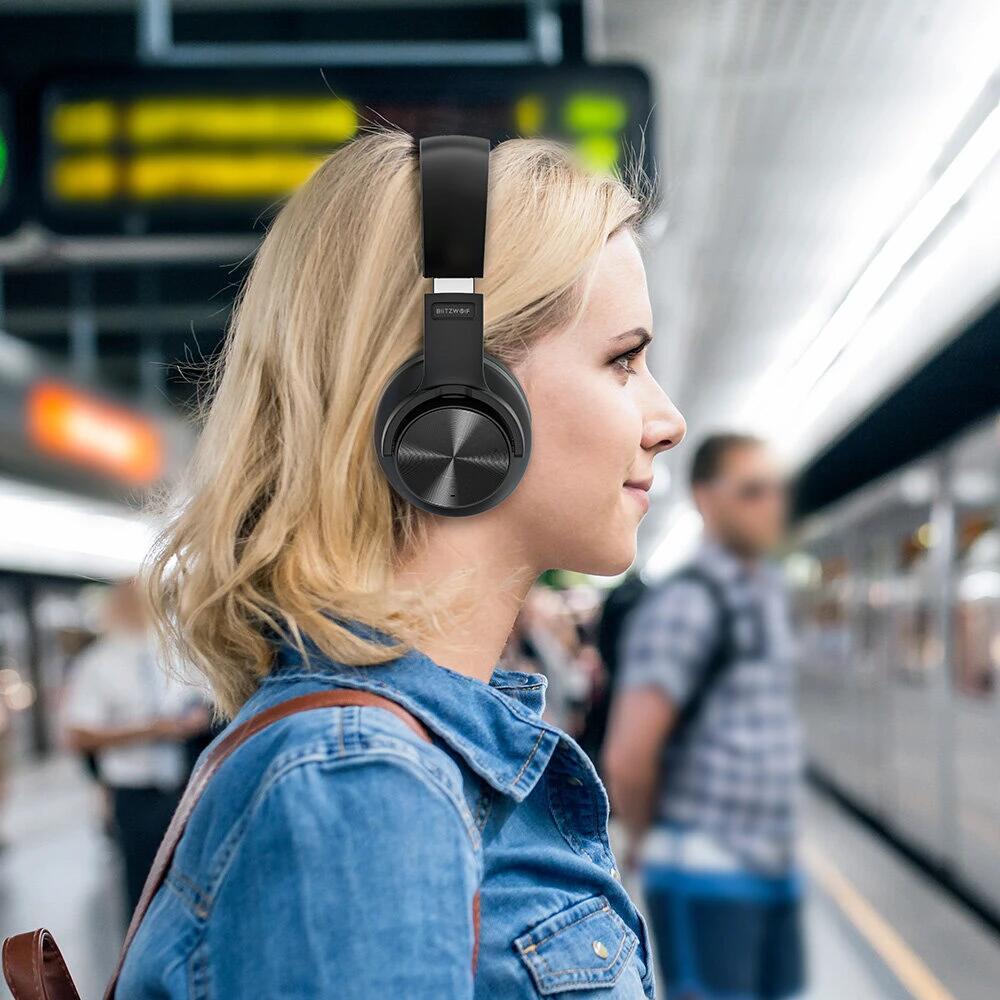 BlitzWolf BW-HP2 bluetooth 5.0 hoofdtelefoon voor €22,78 met code @ BangGood