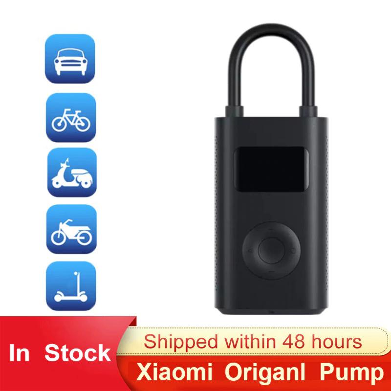 Originele Xiaomi Mijia Pomp Bandenspanning Detectie Elektrische Inflator Luchtpomp Draagbare Smart Digitale Voor Scooter Fiets Auto