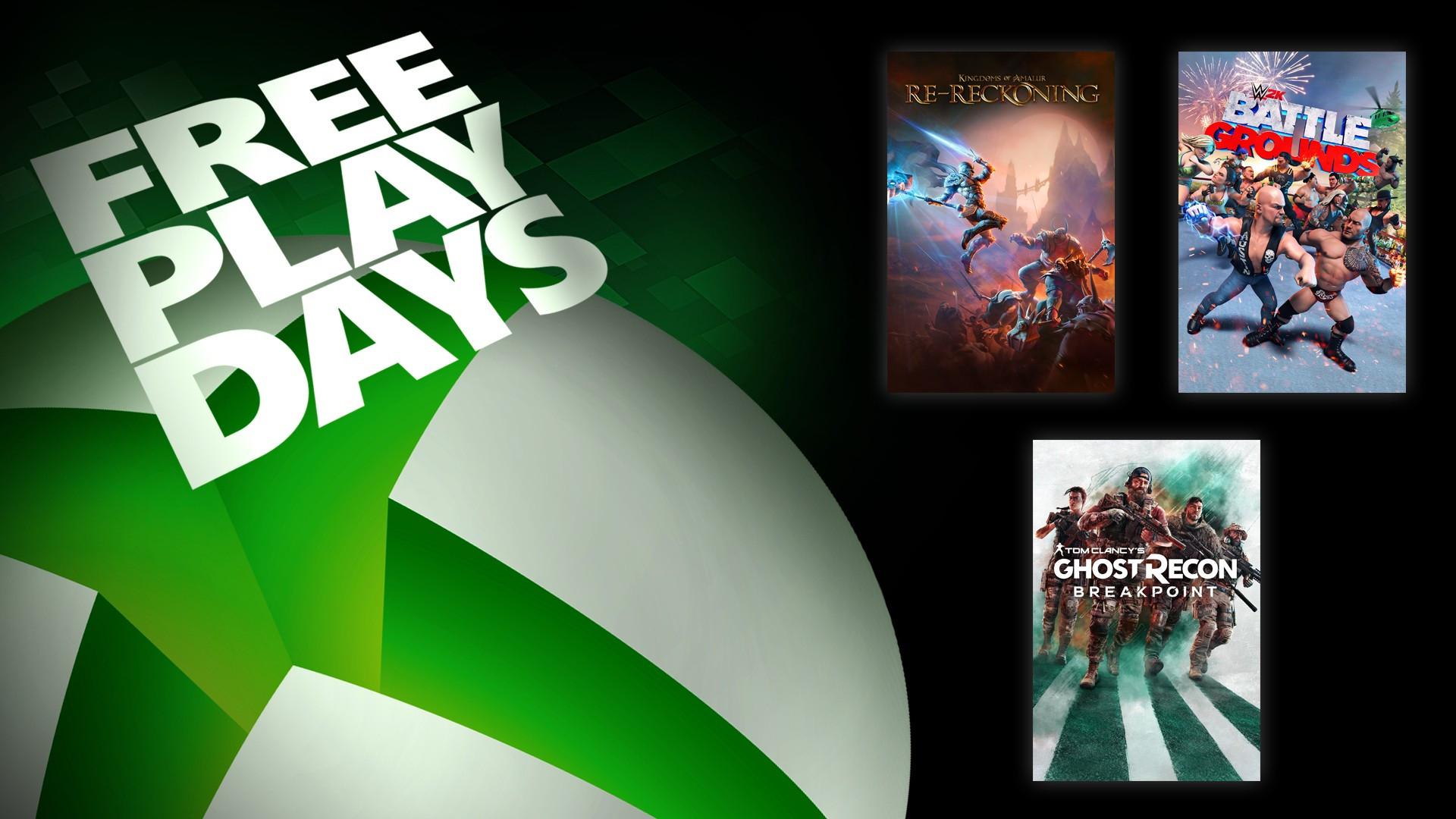 Free Play Days: Kingdoms of Amalur: Re-Reckoning en WWE 2K Battlegrounds