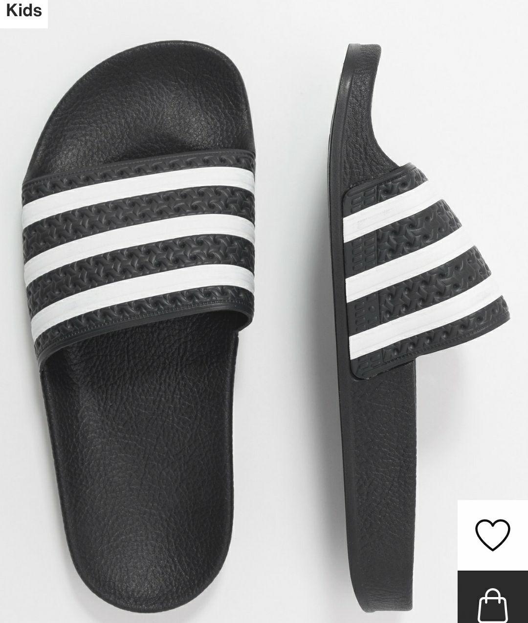 60% korting op de retro Adidas slippers