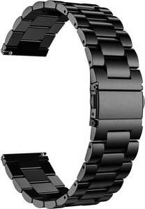 Just in Case Samsung Galaxy Watch 3 45mm Steel Watchband (Black)