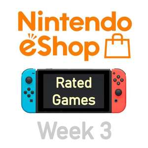 Nintendo Switch eShop aanbiedingen 2021 week 3 (deel 1/2) games met Metacritic score
