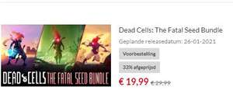Dead Cells + DLCs aanbieding