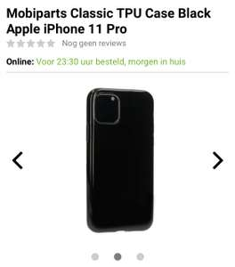 Mobiparts Classic TPU Case Black Apple iPhone 11 Pro