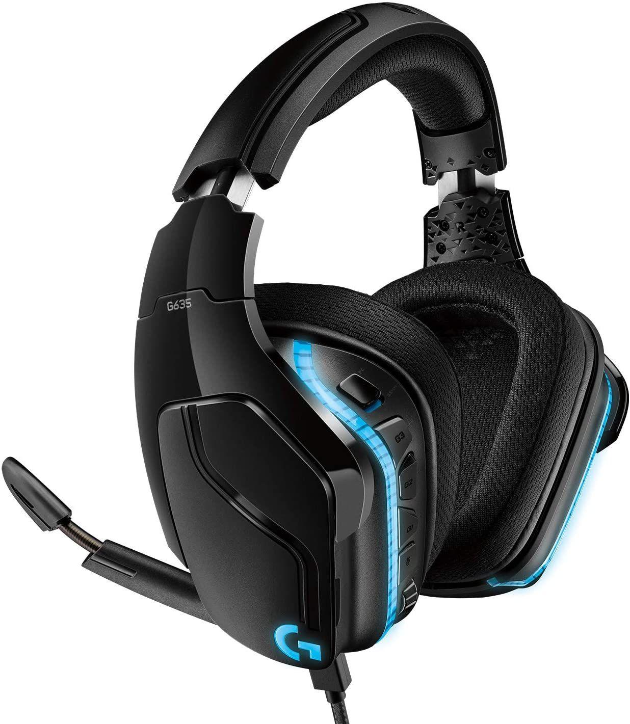 Logitech G635 7.1 Lightsync Gaming Headset @Amazon FR