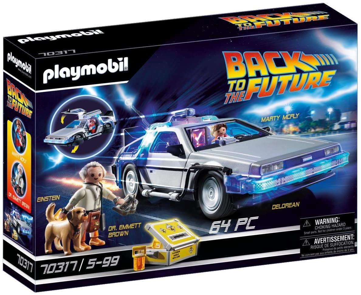 Playmobil Back to the Future 70317 DeLorean met lichteffecten, vanaf 6 jaar, meerkleurig
