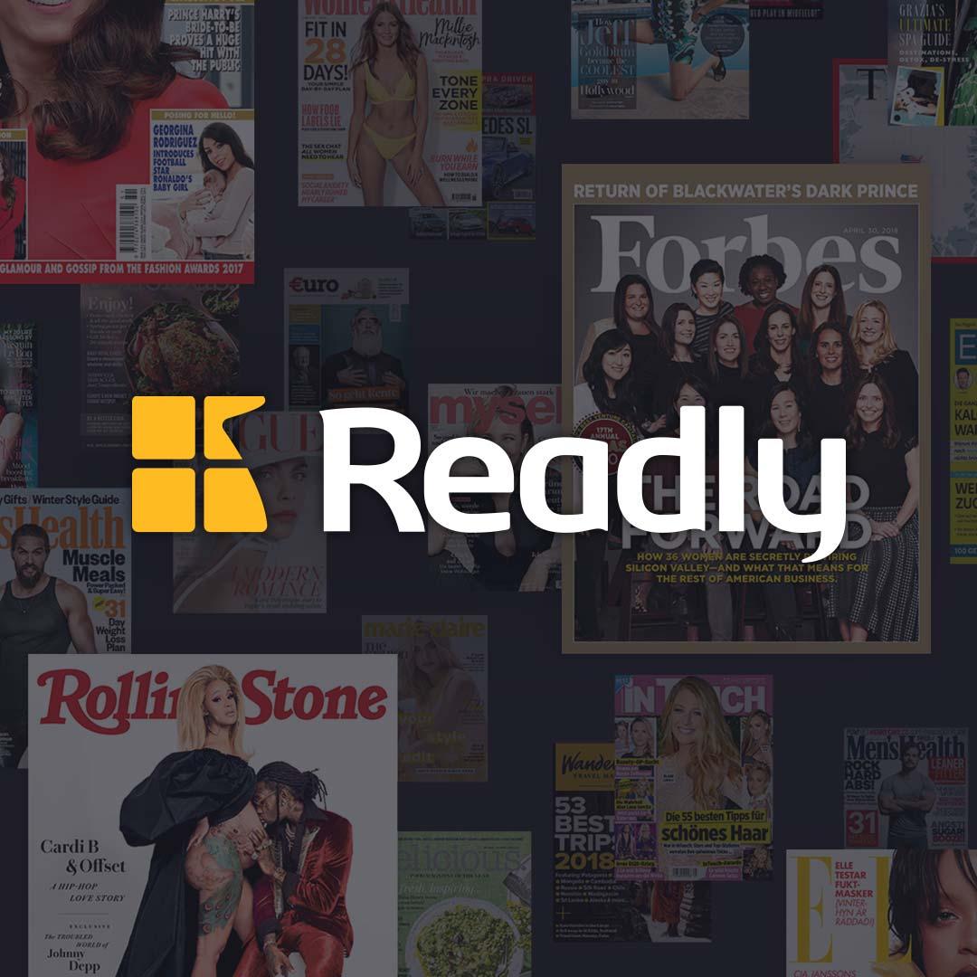 Readly nu weer 2 maanden gratis