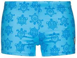 Bruno banani sea turtle short heren zwembroek, azuurblauw