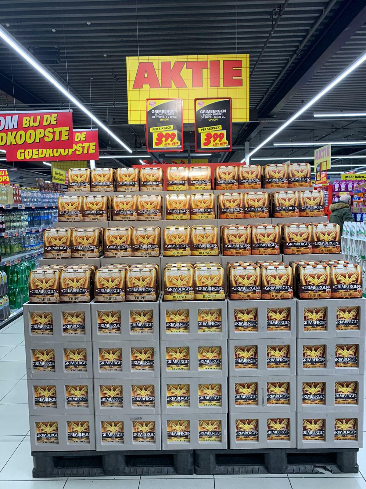 Sixpack Grimbergen voor €3.99 @ Nettorama