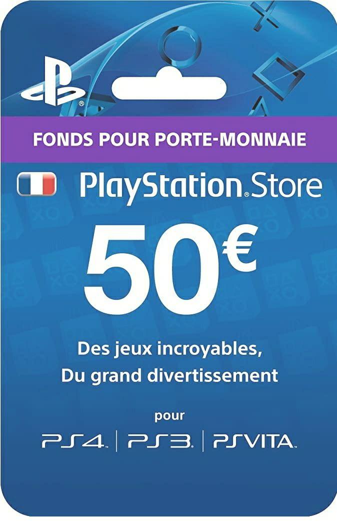 50,- Playstation tegoedkaart voor 39,96