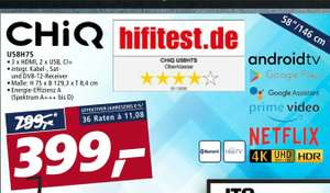 Grensdeal: 58 inch Android televisie bij Real in Duitsland