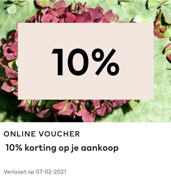 10% member korting op gehele bestelling (Ook geldig op Sale) @ H&M