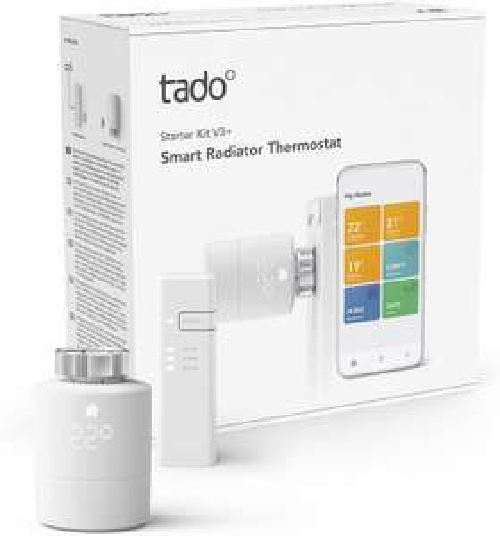 Verschillende Tado producten (bijv. de Starterskit V3+)