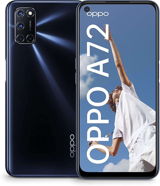 Oppo A72 - 4GB/128GB Smartphone, zwart @Amazon DE