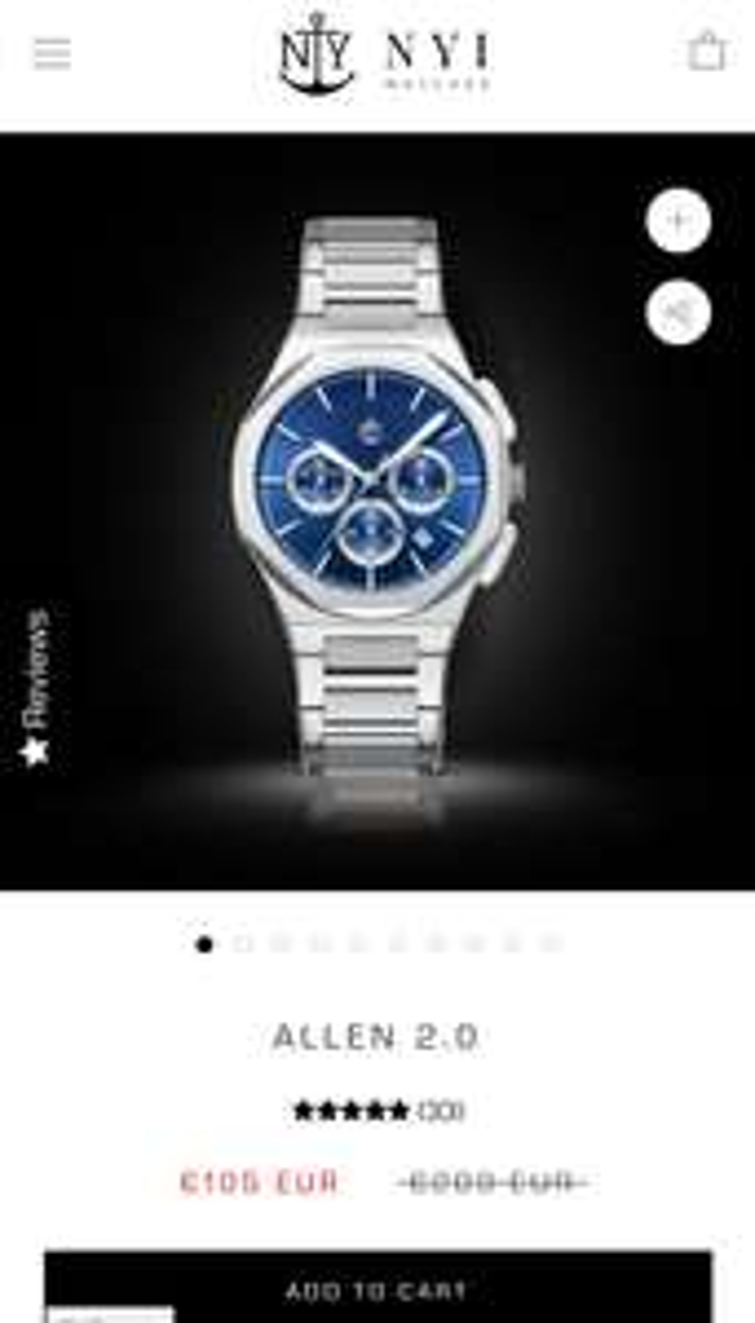 New York Incredibles horloge Allen 2.0