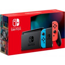 Nintendo Switch Rood & Blauw 2019 (Doos geopend)