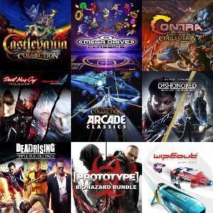 PS4 - O.a. Castlevania, Contra, Arcade, Sega, WipEout... - packs @ Playstation Store