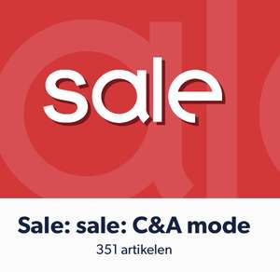 Veel C&A kleding voor €5/€10/€15,-(tot 74% korting) @ Wehkamp