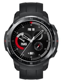HONOR Smartwatch GS Pro Black/White Bundel (Gratis HONOR Sportoordopjes, extra horlogebandje & weegschaal)