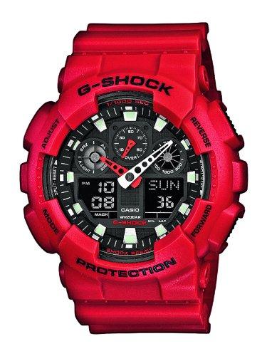 G-Shock horloge GA-100B-4AER voor €79 @ Amazon.co.uk