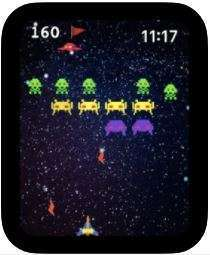 [iOS] Galaxia 4-game gratis (werkt op iPhone en Apple Watch)