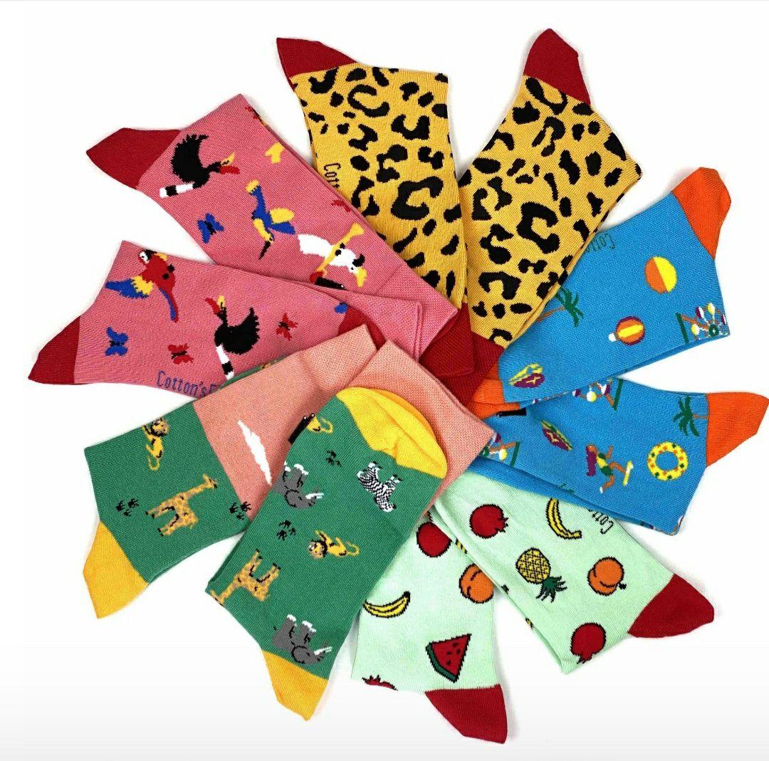 Gratis sokken bij Cotton's Finest!