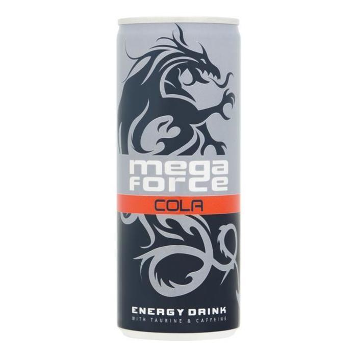 Megaforce Energy Cola 24 blikjes €5 (6 liter) @ Die Grenze