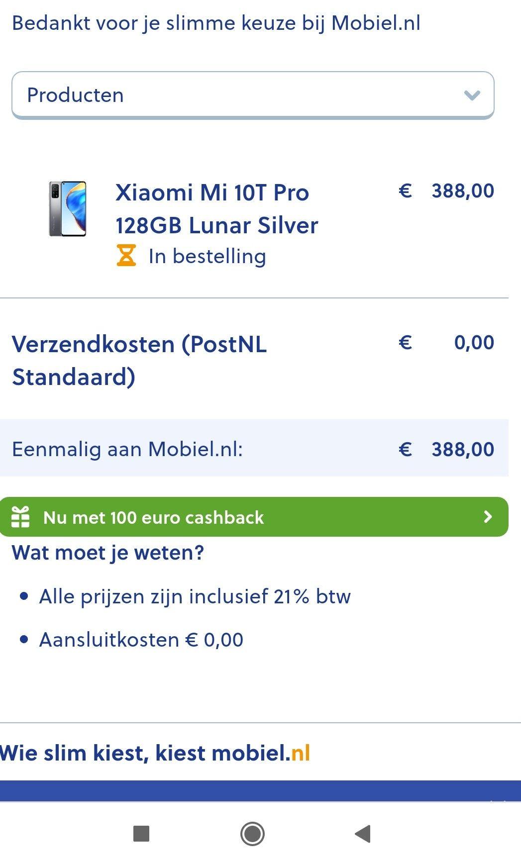 Xiaomi 10t PRO 128 GB