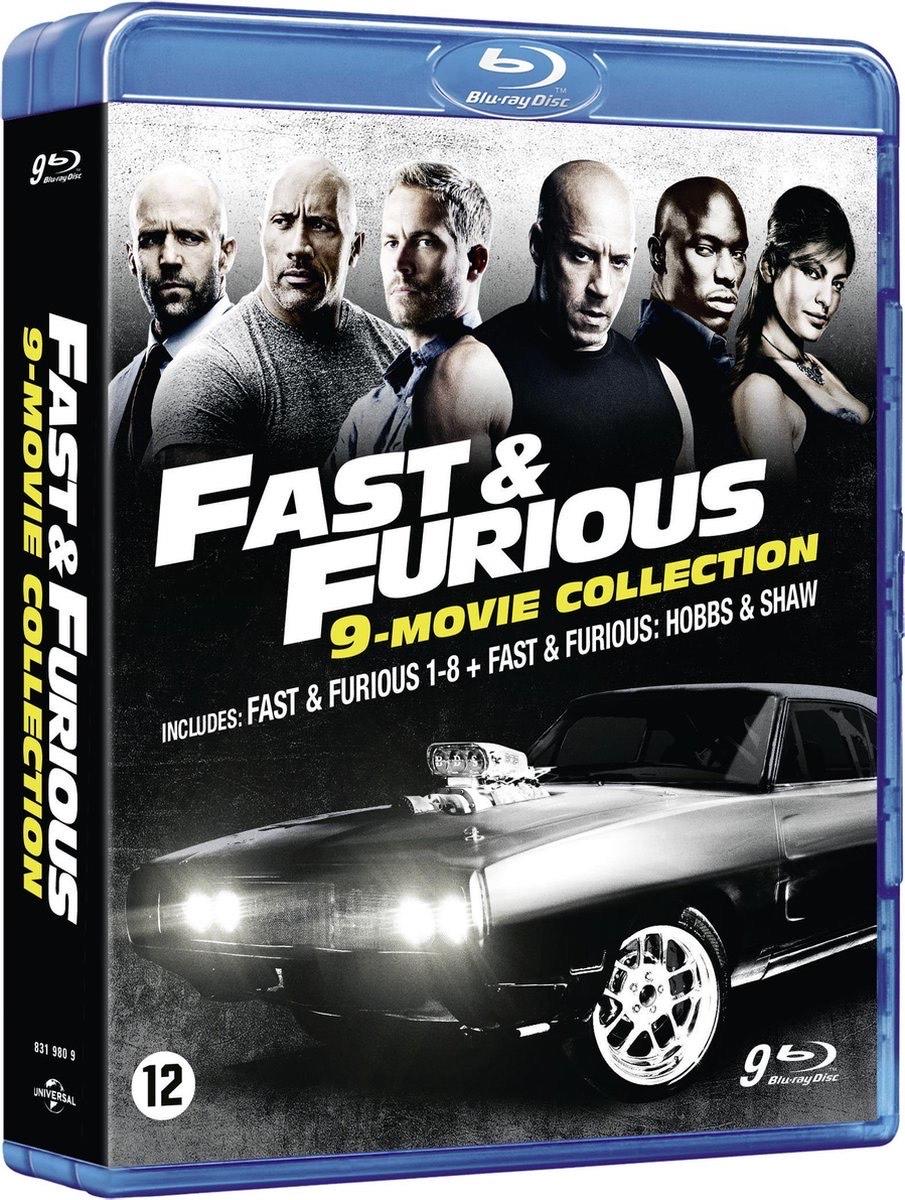 Fast & Furious 1-8 + Hobbs & Shaw | Blu-ray @ Boekenvoordeel
