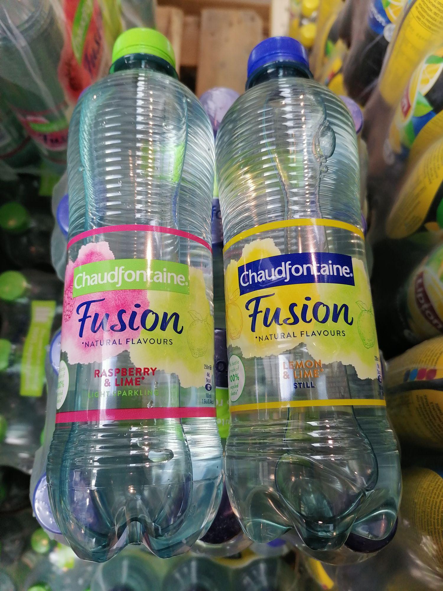 6 flesjes Chaudfontaine Fusion €1 @ Die Grenze