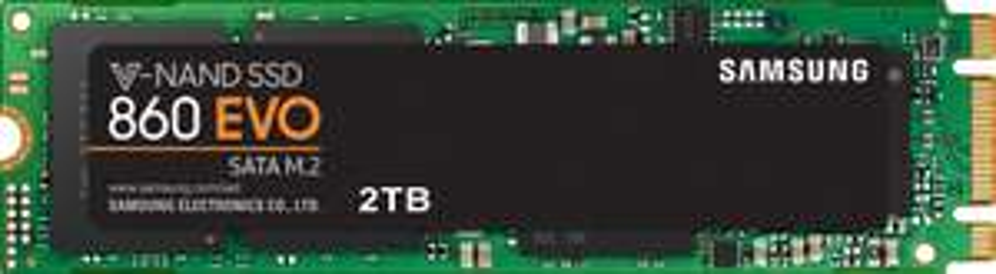 Samsung 860 EVO 2TB SSD M.2 V-NAND @Alternate