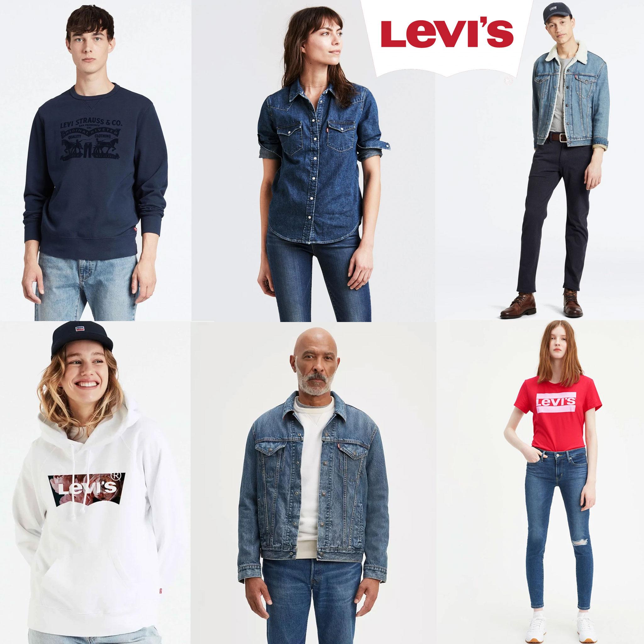 Levi's 60-80% korting