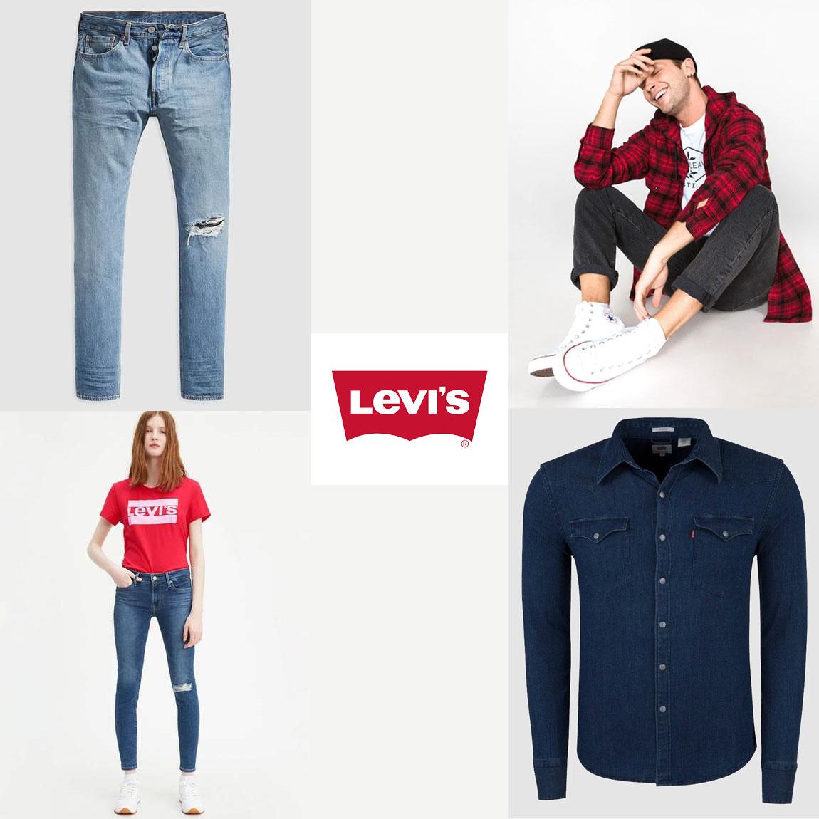 Levi's: ALLES 70% korting