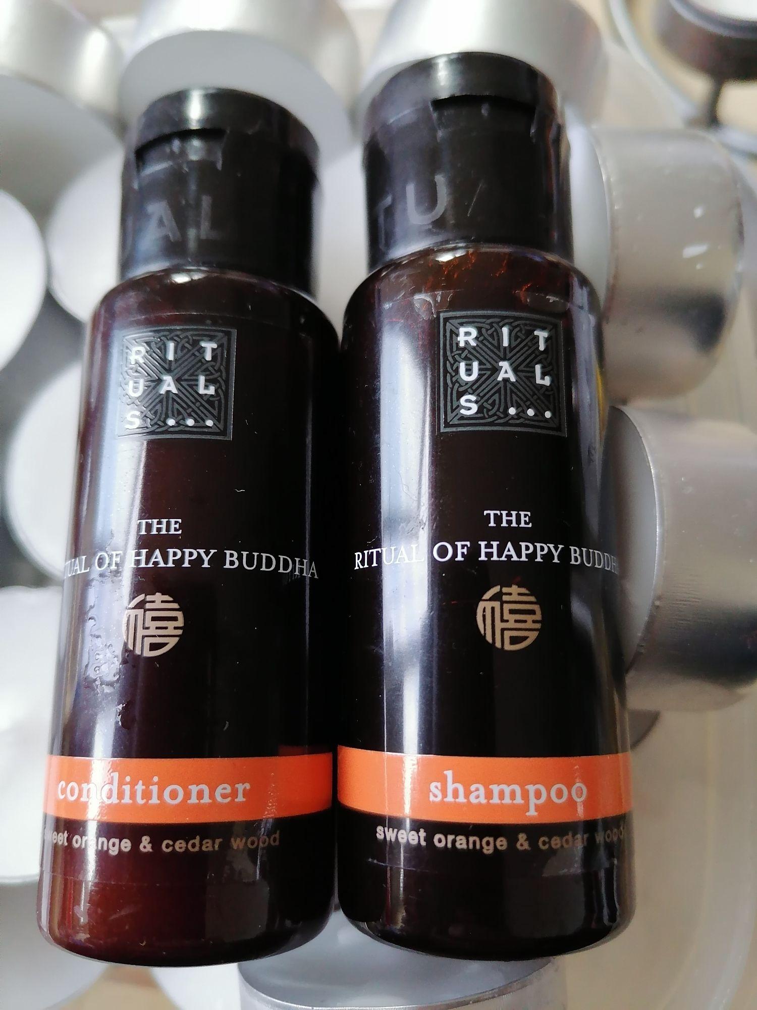 Rituals Happy Buddha 2 Reisflesjes Shampoo of Conditioner €1 @ Die Grenze