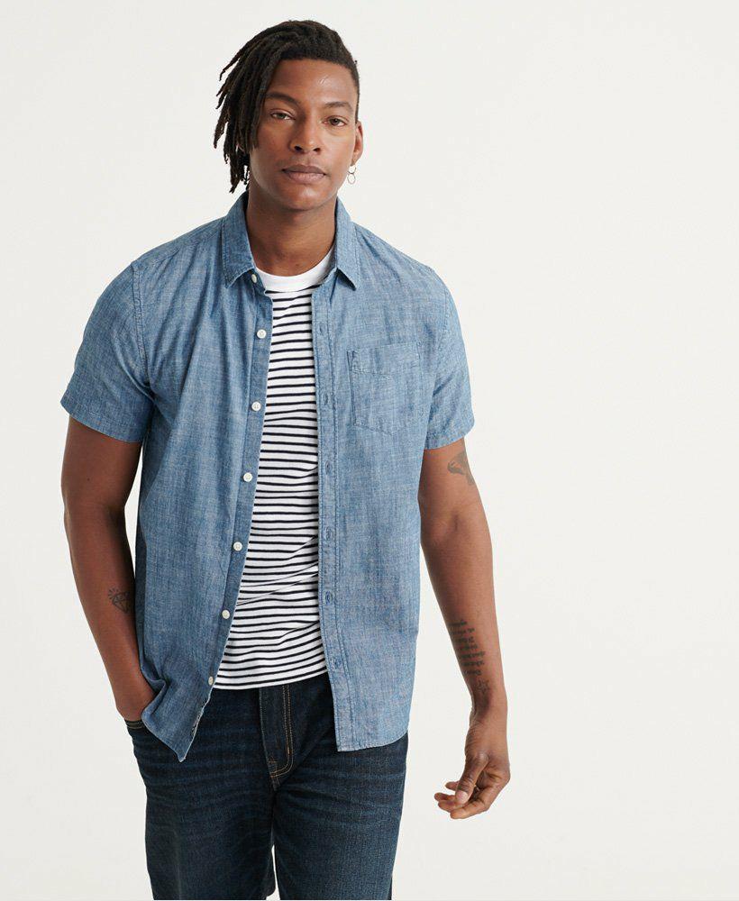 Superdry Loom S/S Shirt vrijetijdshemd