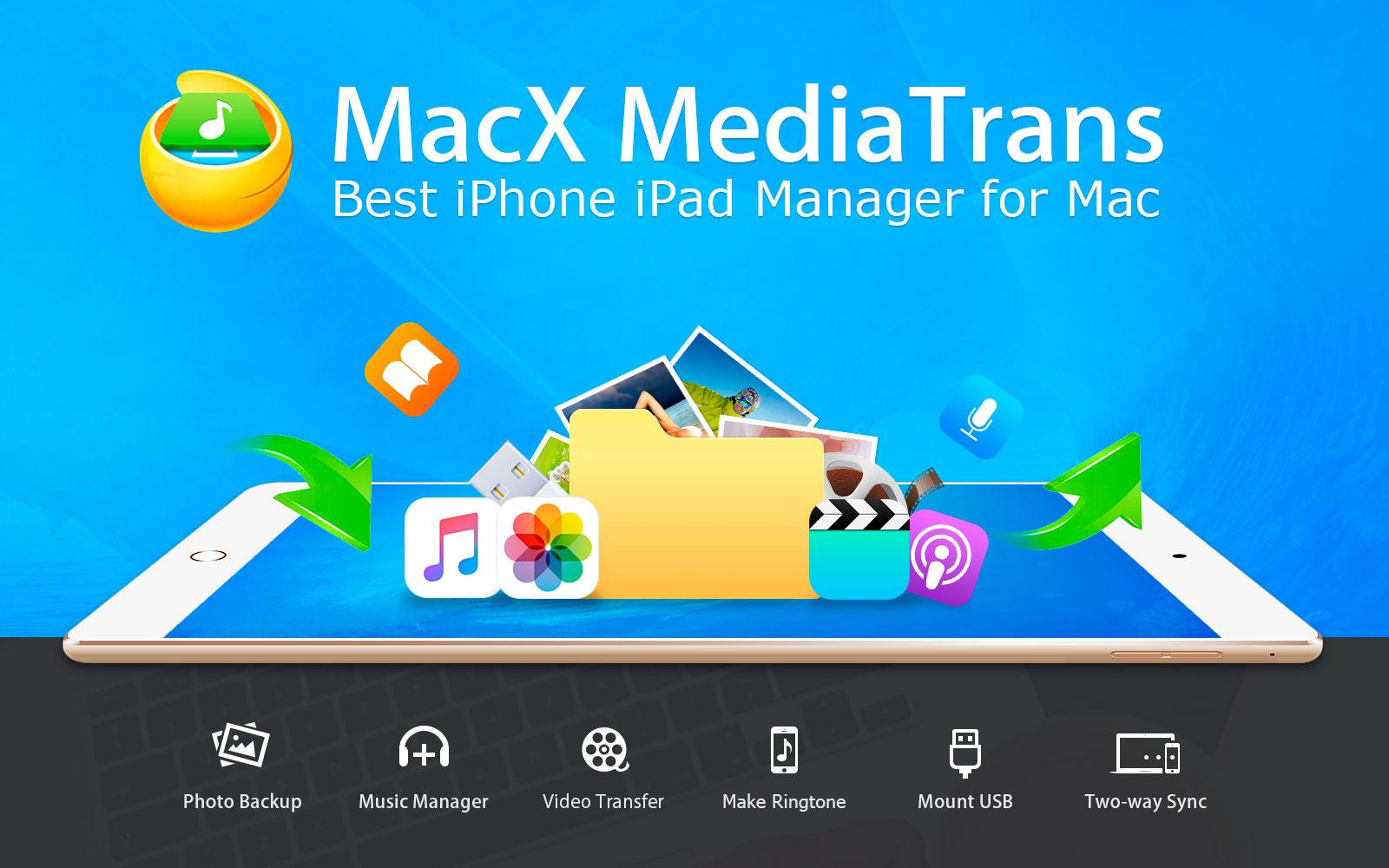 MacX & WINX MediaTrans tijdelijk gratis [Lifetime License 57% korting]