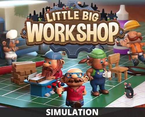 Little Big Workshop, gratis op Amazon Games met Prime