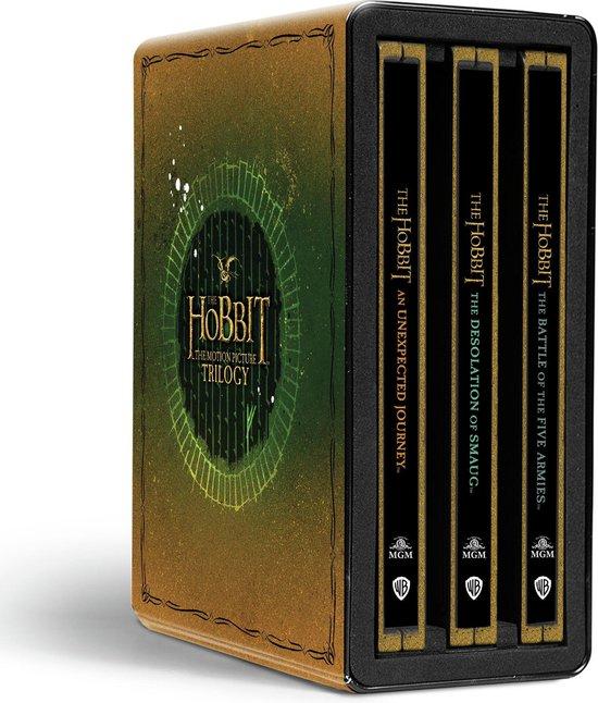 The Hobbit Trilogy - Limited Edition 4K Steelbook Collection (Franse hoes, Engelse audio en NL subs)