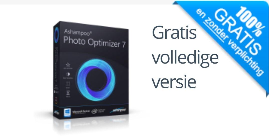Ashampoo Photo Optimizer 7 Gratis licentie