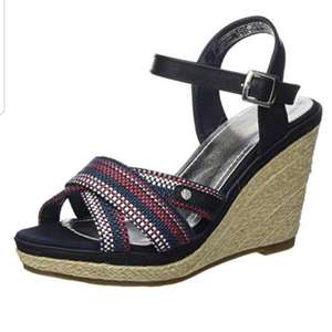 Tom Tailor Dames Riempjes Sandalen met Sleehak 13,54 bij Amazon.nl