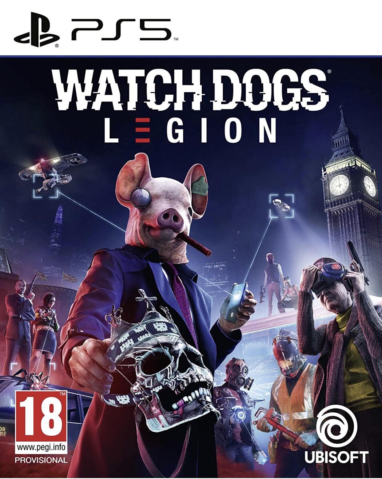 Watch Dogs Legion PS5 - Amazon.nl
