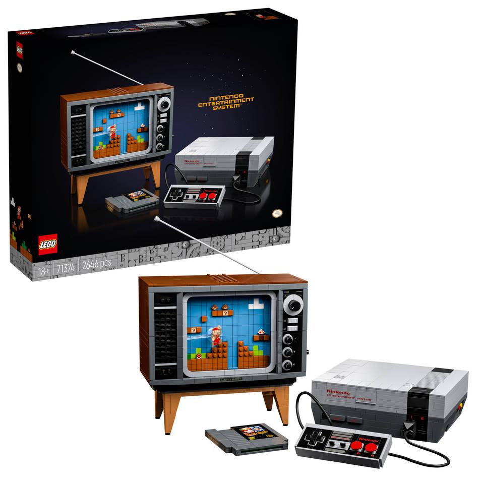 LEGO Nintendo Entertainment System 71374 €206,99 i.c.m. code